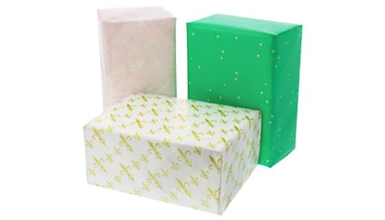 包装紙で包んだ箱のアイキャッチ画像