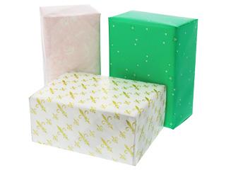 包装している箱の画像